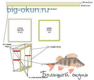 ящик для сушки рыбы своими руками
