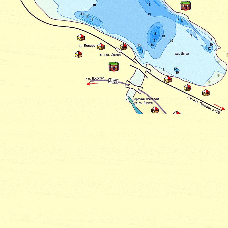 наша рыбалка карта глубин