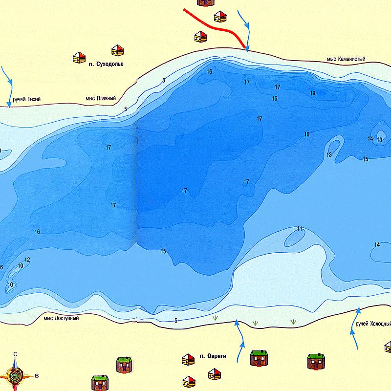ловля на чухломском озере