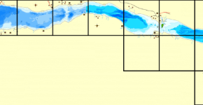 Рыбалка на озере Суходольское, карта глубин