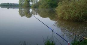 Поиск места для рыбалки.