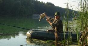 ловля рыбы в июне